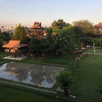 Photo taken at Siripanna Villa and Gallery Resort Chiang Mai by Clint L. on 11/19/2016