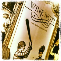 Photo taken at Wine not? by Giorgos K. on 10/26/2013