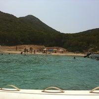 Photo taken at Sapientza Island by Christos K. on 8/18/2013