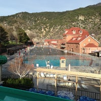 Photo taken at Glenwood Hot Springs by Lisa K. on 4/5/2013
