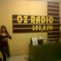 Photo taken at OZ Radio 102.8 FM Banda Aceh by Ikhwanul H. on 12/9/2013