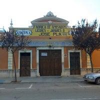 Photo taken at Destilería Pla ''Brandy Vell'' by Sergio G. on 10/12/2013