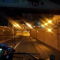Photo taken at Tunel Gran Via Germanias - Plaza de España by Sergio G. on 5/3/2014