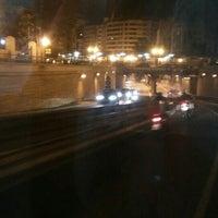 Photo taken at Tunel Gran Via Germanias - Plaza de España by Sergio G. on 9/12/2015