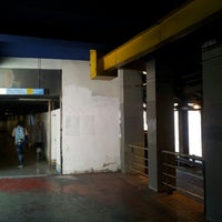 Photo taken at Tunel Gran Via Germanias - Plaza de España by Sergio G. on 5/10/2014
