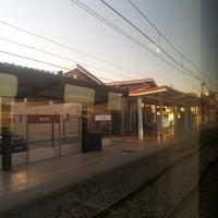 Photo taken at Estación de tren Albuixech by Sergio G. on 9/3/2013