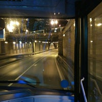 Photo taken at Tunel Gran Via Germanias - Plaza de España by Sergio G. on 8/7/2015