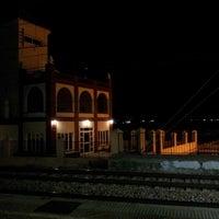 Photo taken at Estación de tren Albuixech by Sergio G. on 11/28/2013