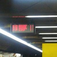 Photo taken at Metrovalencia Pl. Espanya by Sergio G. on 6/5/2014