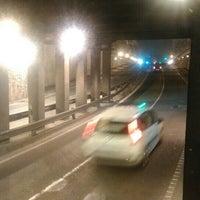 Photo taken at Tunel Gran Via Germanias - Plaza de España by Sergio G. on 12/4/2015