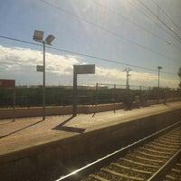 Photo taken at Estación de tren Albuixech by Sergio G. on 10/30/2013