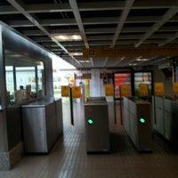 Photo taken at Metrovalencia Pl. Espanya by Sergio G. on 7/14/2014