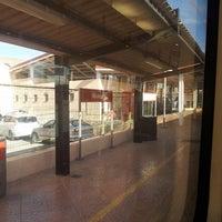 Photo taken at Estación de tren Albuixech by Sergio G. on 10/2/2013