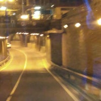 Photo taken at Tunel Gran Via Germanias - Plaza de España by Sergio G. on 10/26/2015
