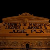 Photo taken at Destilería Pla ''Brandy Vell'' by Sergio G. on 11/10/2013