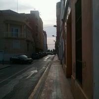 Photo taken at Carrer banda L'Empastre by Sergio G. on 7/2/2013