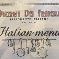 Photo taken at Pizzeria Dei Fratelli by Evangelia L. on 11/19/2017