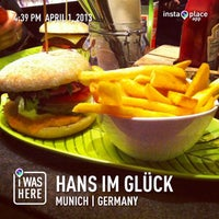 Photo taken at Hans im Glück - Burgergrill by Ajeet P. on 4/1/2013