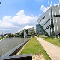 Photo taken at Bangkok University by Tamonwan S. on 6/3/2013