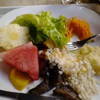 Photo taken at Restaurante Flor do Maracujá by Andressa Á. on 5/6/2013