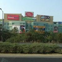 Photo taken at Ansal Plaza, Greater Noida by Diptangshu M. on 12/14/2012