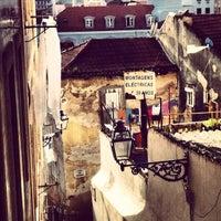 Photo taken at Rua da Costa do Castelo by Isaac G. on 4/2/2013