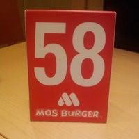 Photo taken at MOS Burger by Ben Francis C. on 3/18/2014