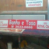 Photo taken at Banho e Tosa by Matheus L. on 4/19/2013