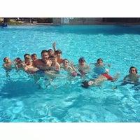 Photo taken at Gloria Verde Resort pool by Recep M. on 7/3/2015