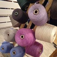 Photo taken at Textile Arts Center - NYC by Eva W. on 1/13/2014