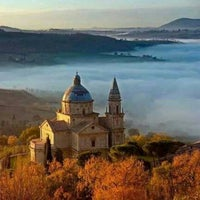 Photo taken at Hotel Panoramic Montepulciano Siena Italy by Amministrazione H. on 3/2/2014