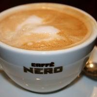Photo taken at Caffè Nero by Selin B. on 5/11/2013