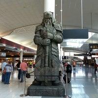 Photo taken at International Terminal by Michael D. on 5/9/2013