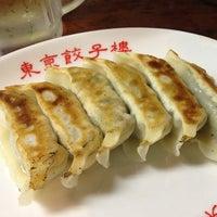 Photo taken at 東京餃子楼 三軒茶屋本店 by . ♻. on 7/13/2013