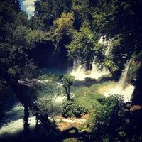 6/9/2013 tarihinde Burcu M.ziyaretçi tarafından Düden Şelalesi'de çekilen fotoğraf