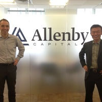 Photo taken at Allenby Capital ltd by Chia Chieh C. on 6/10/2013