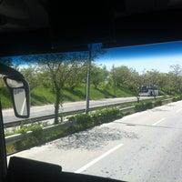 Photo taken at AŞTİ Metro Turizm Peronu by Ömer Faruk A. on 5/3/2013