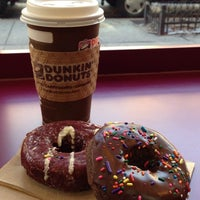 Photo taken at Dunkin' Donuts by Rafael C. on 12/7/2013
