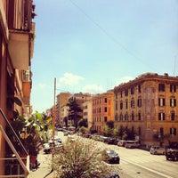 Photo taken at Via Della Giuliana by Ely I. on 9/5/2013