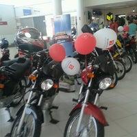 Photo taken at Honda Amauri Motos by Jonathhan L. on 4/6/2013