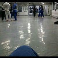 Photo taken at Ryan-Gracie Almeida Jiu-Jitsu by Jéssica B. on 4/7/2013