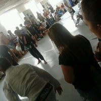 Photo taken at Ryan-Gracie Almeida Jiu-Jitsu by Jéssica B. on 4/6/2013