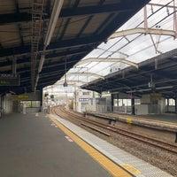 Photo taken at Ashiharabashi Station by Kern J. on 3/9/2018