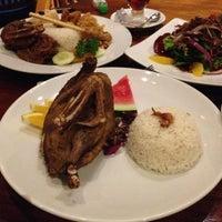 Photo taken at Bebek Bengil (Dirty Duck Diner) by j.a.t.i on 2/27/2013