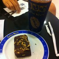 Photo taken at Coffee World by ll_sugar_free_ll on 1/12/2013