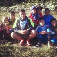 Photo taken at Gunung Gede by Iqha O. on 7/21/2013