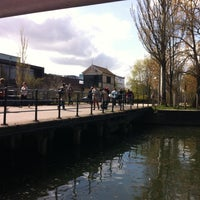 Photo taken at Brayford Wharf East Level Crossing by Phil C. on 4/30/2013