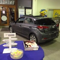 Photo taken at Hyundai Wavre by Eric R. on 12/5/2014