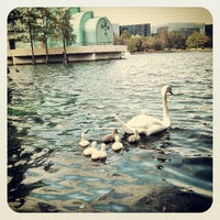 Photo taken at Lake Eola Park by Chris E. on 4/28/2013