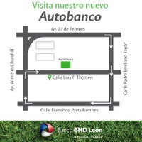 Photo taken at Banco BHD León by Banco B. on 11/3/2016